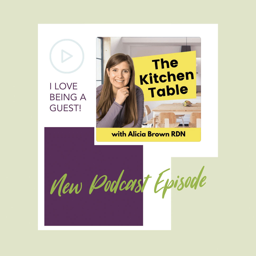 Kitchen Table New Podcast Episode Instagram Post